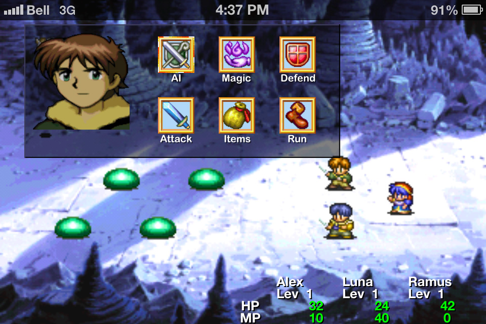 Lunar: Silver Star Story Touch 3