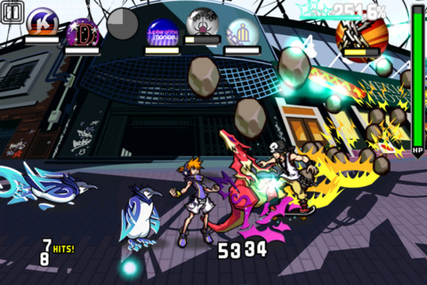 The World Ends With You Solo Remix iPhone 1