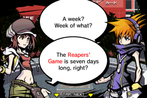 The World Ends With You Solo Remix iPhone 2