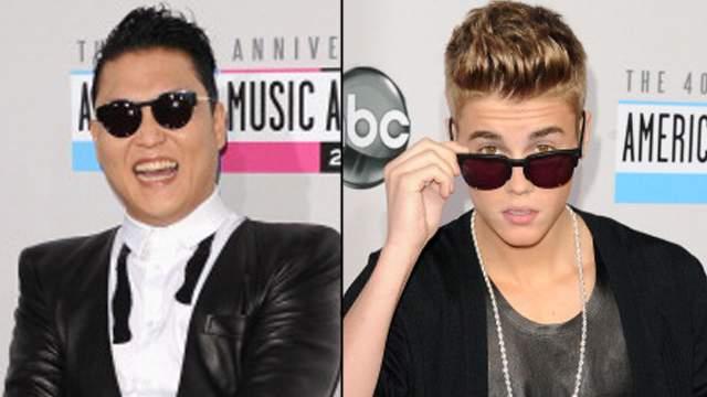 Justin Bieber VS PSY 1