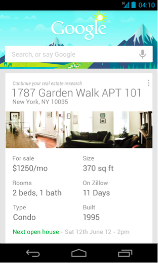 Google_Now_ZillowListing