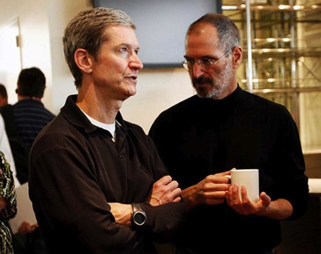 Tim_Cook_Steve_Jobs Samsung