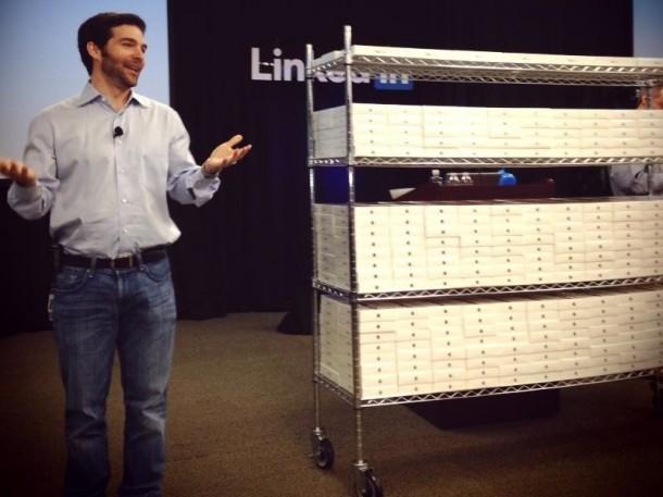 LinkedIn gives iPad Mini
