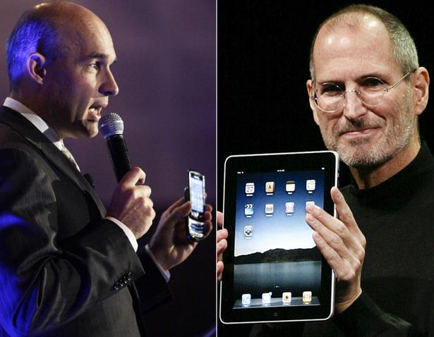 Blackberry VS Apple