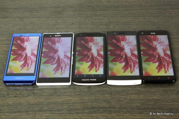 Full HD Mobile Screen Comparison 2