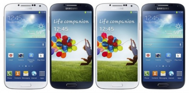 Galaxy s4 color