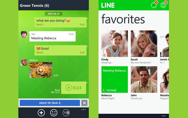 Windows Phone 8 Line Update