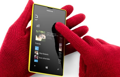 NokiaLumia520supersensitivetouch