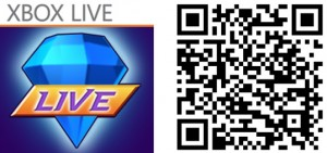 QR Logo Bejeweled Live