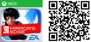 QR Logo Mirrors Edge