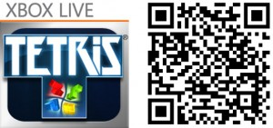 QR Logo Tetris