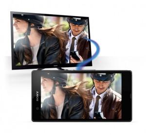 การส่งภาพขึ้นทีวีโดยการเชื่อมต่อด้วย NFC