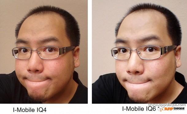 I-mobile IQ4 IQ6 เทียบ 46