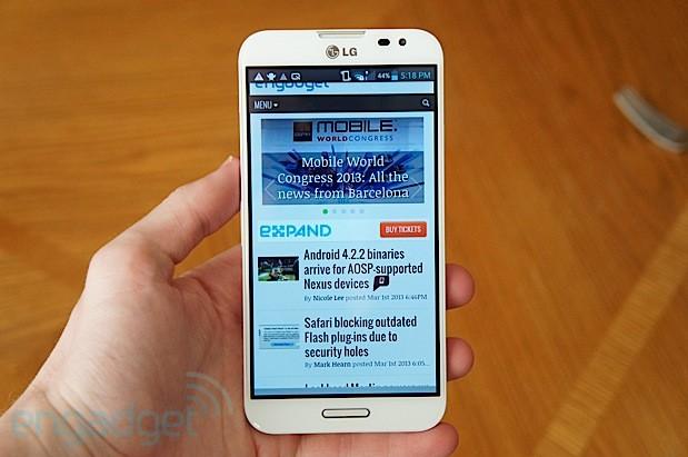 LG จะมาในไตรมาสสามของปี และจะมีขนาดหน้าจอประมาณ 5 นิ้ว ซึ่งไม่ใช่เครื่อง Optimus G Pro