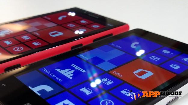 เปรียบเทียบ nokia lumia 720 vs 820