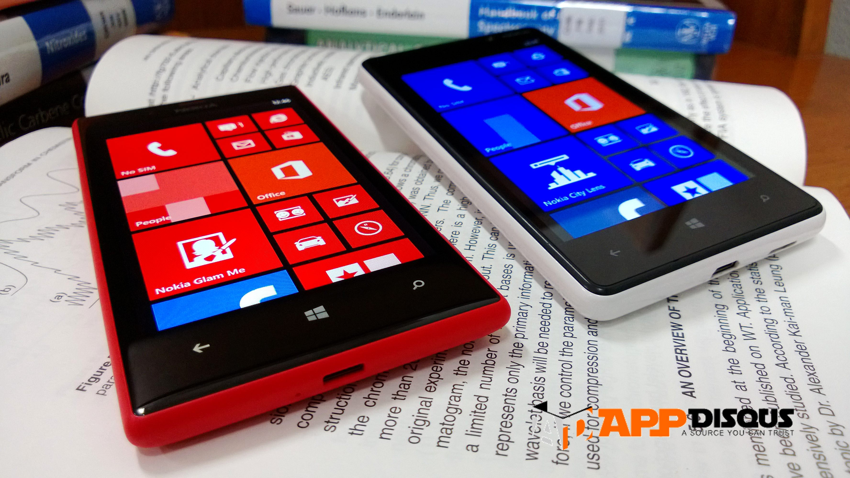 nokia lumia 720 vs 820