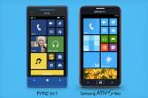 HTC 8XT และ ATIV S Neo