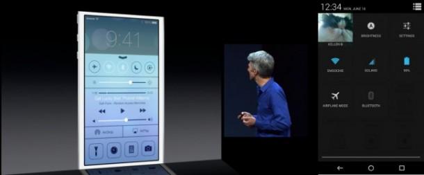 iOS 7 Quick Toggles