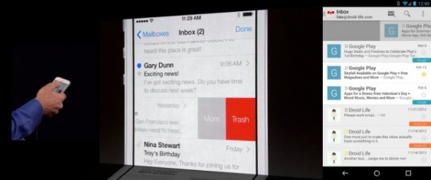 iOS 7 Email Application