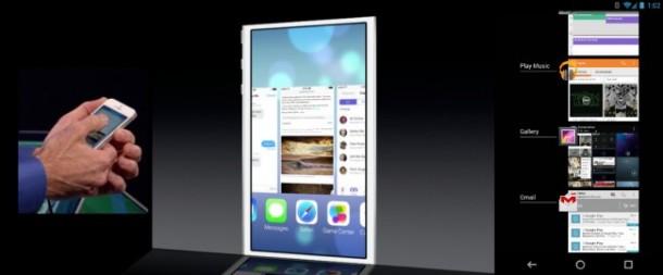 iOS 7  Multi Tasking