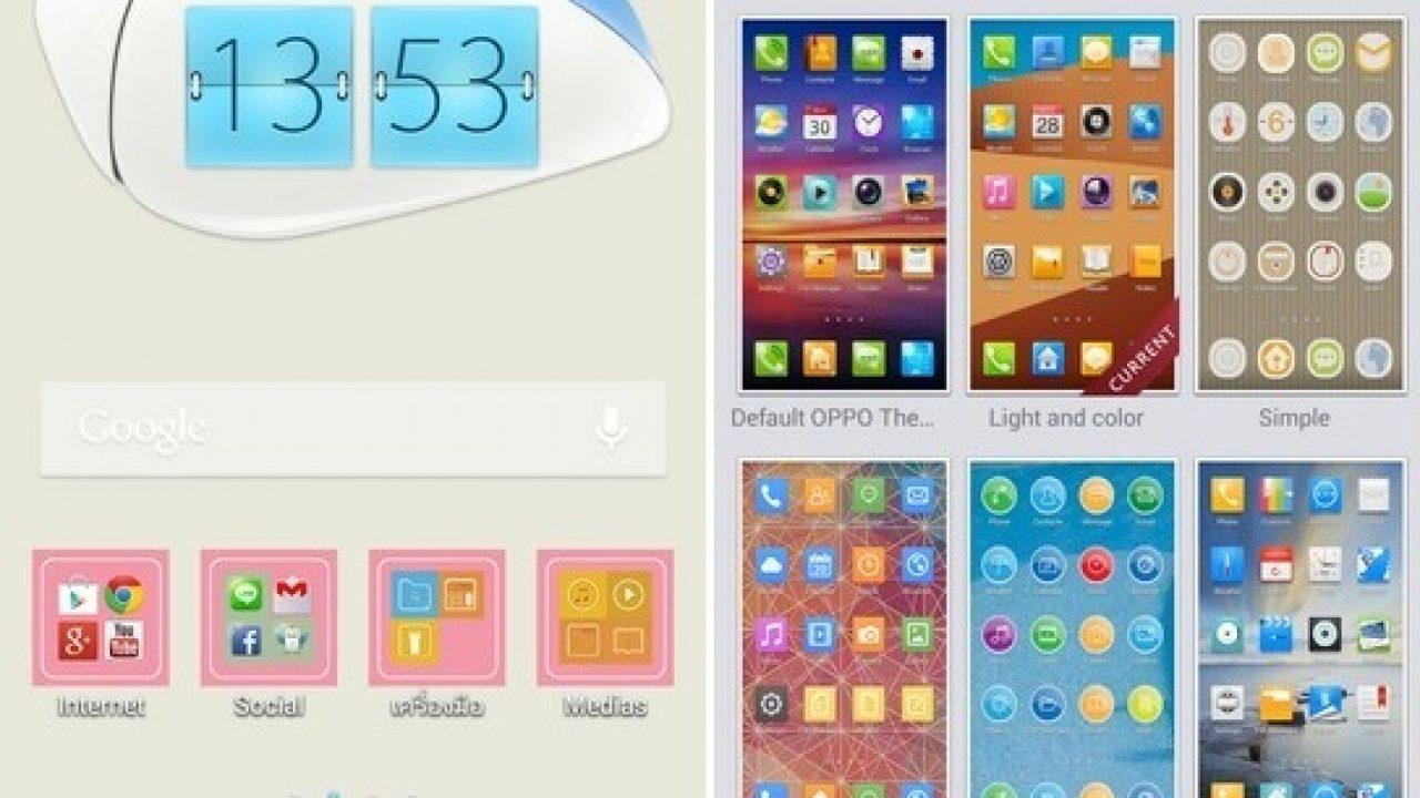 Oppo Find5 เปลี่ยนอารมณ์ได้ทุกวัน ด้วยธีมหลากสีสันและลีลา