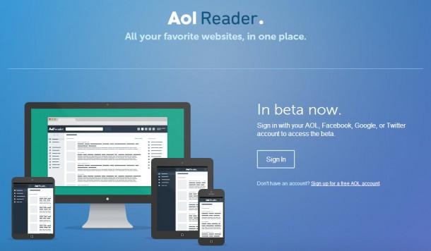AOL Reader