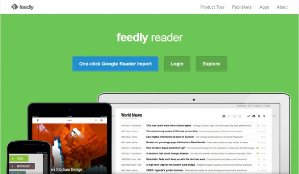 Feedly RSS Readers