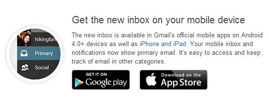 mobile - New Gmail Box