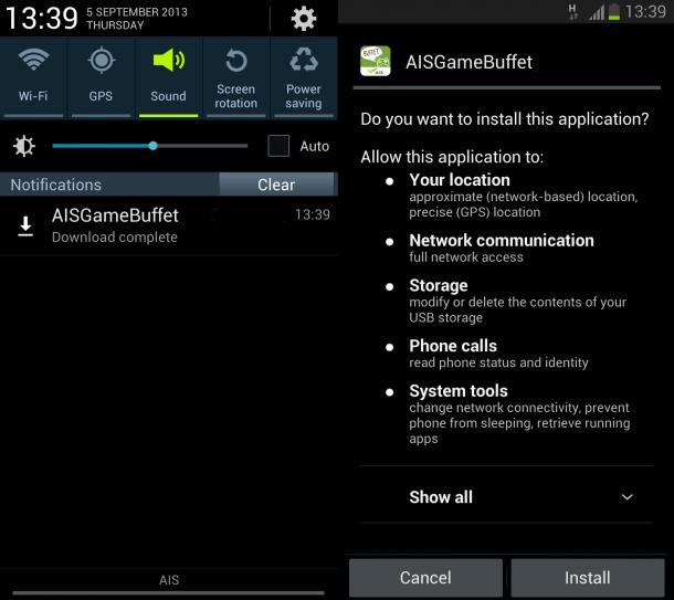 Install AIS Game Buffet 2_edit