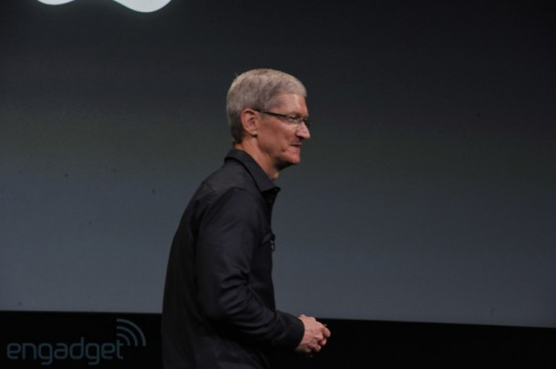 Tim Cook Apple Event iPhone 5S & iPhone 5C