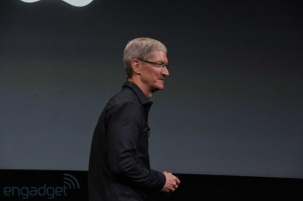 Tim Cook Apple Event iPhone 5S & iPhone 5C