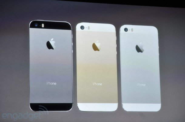 iPhone 5S from Apple Event