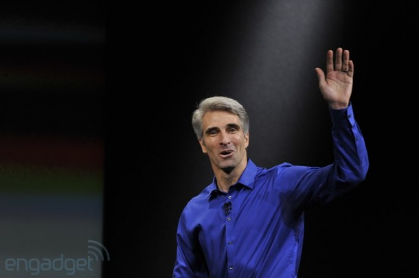 Craig Federighi iOS7 Apple Event