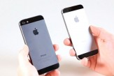iPhone 5S Graphite and iPhone 5 Black Comparison