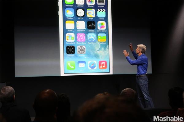 Craig Federighi iOS7 Apple Event 2