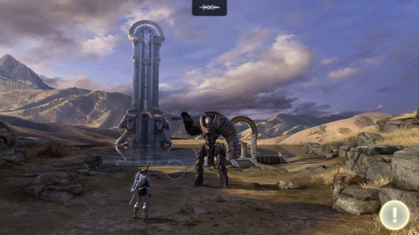 Infinity Blade 3 - iPhone 5 3