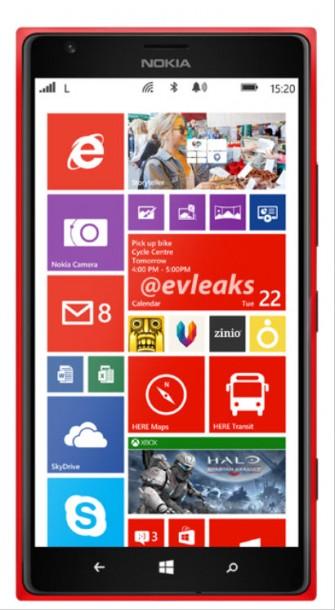 Lumia 1520 Red
