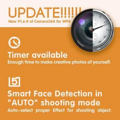 camera360 update 1.6.0.0