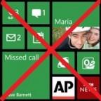 no modern interface on windows phone 9