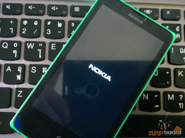 Nokia X Semi Brick Stage