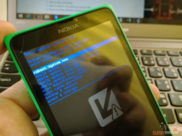 Nokia_Bootloader Screen
