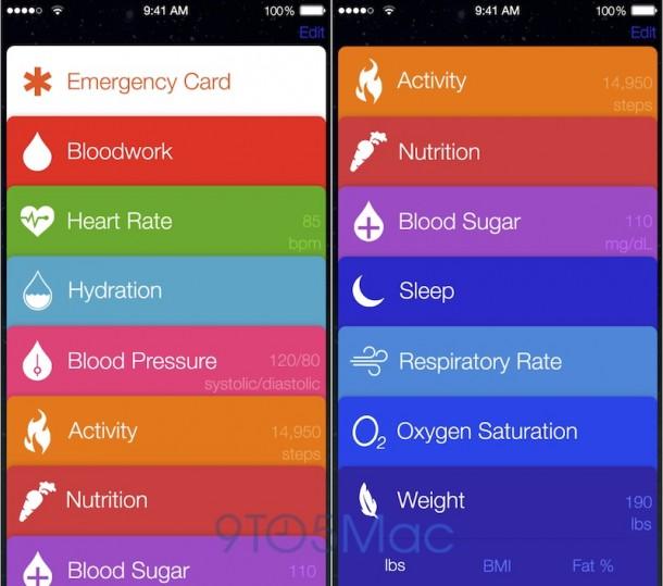 iOS Healthbook