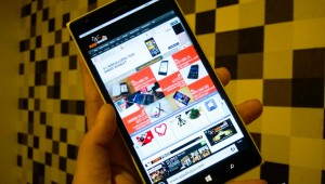 IE11 on Windows phone 8.1 lead