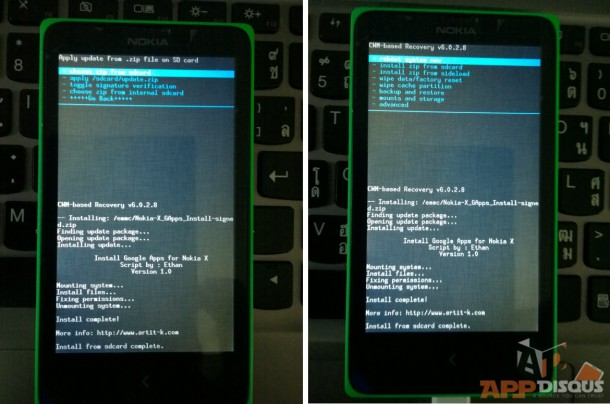 Install Google Service in Nokia X_2