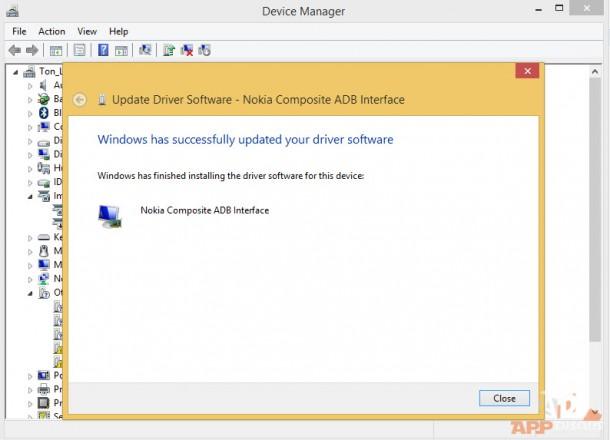 Install Nokia X USB Driver_2