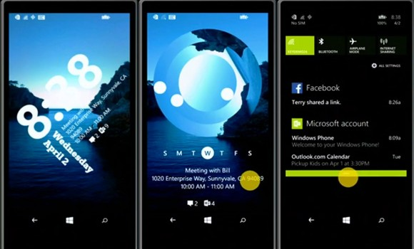 WP8.1 Lock Screen