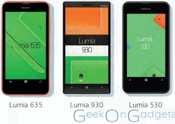 Leaked Nokia Lumia 530