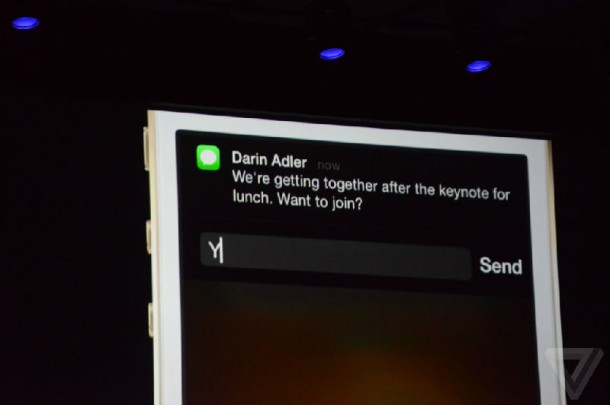 Notifications Center Reply on iOS8