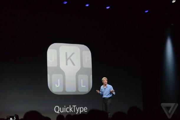 QuickType บน iOS8
