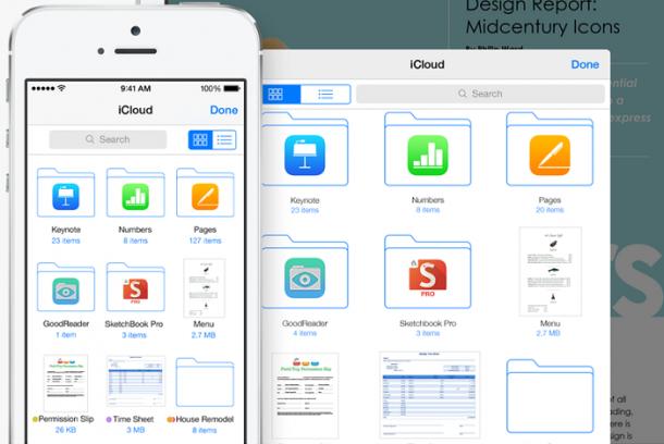iCloud Drive on iOS8